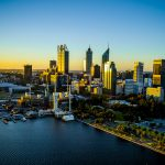 Sunset Aerial Photography Perth